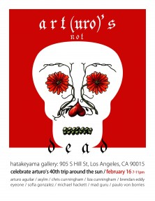 Art(uro)'s Not Dead Flyer